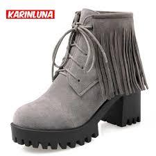 womens size 12 fringe boots get cheap womens fringe boots aliexpress com alibaba