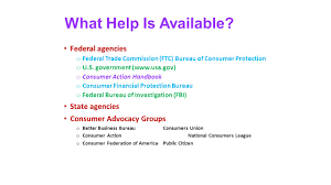 us federal trade commission bureau of consumer protection chapter 9 objectives 1 explain how to dispute errors on billing