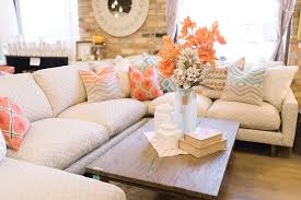 Sectional Sofa Pillows How To Arrange Pillows On A Sofa Four Chairs Blog