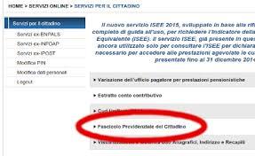 cassetto previdenziale cittadino inps come consultare lo stato della domanda di pensione dal sito inps