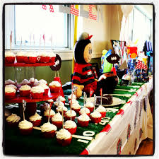 ohio state football birthday party parties pinterest