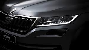 skoda kodiaq 2017 2017 skoda kodiaq teaser wallpaper hd car wallpapers