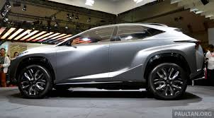 lexus crossover turbo tokyo 2013 lexus lf nx turbo goes the blown route