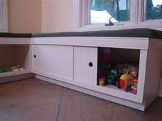 Kitchen Storage Bench Seat Plans by Diy Kitchen Banquette Bench Using Ikea Cabinets Ikea Hacks