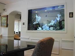 furniture glamorous interior large fish tank room divider design