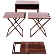 illum wikkelsø folding table set in rosewood for sale at 1stdibs