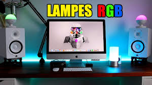 bureau high les aukey led rgb les de chevet bureau high tech