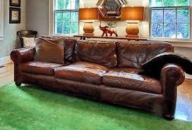 Lancaster Leather Sofa Restoration Hardware Original Lancaster Leather Sofa In