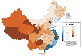 china on a map maps china s migration matt hartzell s