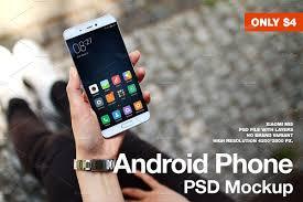 xiaomi mi5 android phone xiaomi mi5 psd mockup product mockups creative market