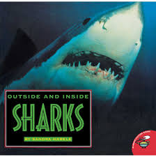 outside and inside sharks book by sandra markle official