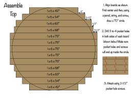 Plans For Round End Table by 70 Inch Round Table Top Woodworking Tables And Diy Furniture