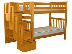 Staircase Bunk Beds Stairway Bunk Beds Free Shipping Bunk Bed King