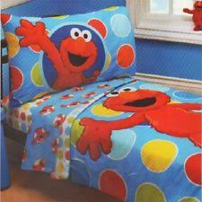 Elmo Bedding For Cribs Sesame Nursery Bedding Ebay