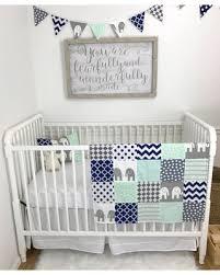 Navy Nursery Decor Shopping Special Baby Blanket Nursery Decor Baby Quilt