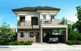 modern two story house plans mhd 2012004 eplans modern house designs small house