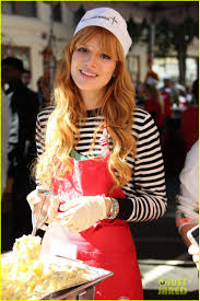 feed the homeless on thanksgiving neil patrick harris u0026 bella thorne help feed the homeless photo