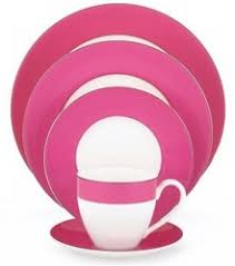 discontinued lenox rutherford circle pink dinnerware by kate spade