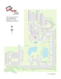 map hyde park townhomes u0026 apartments