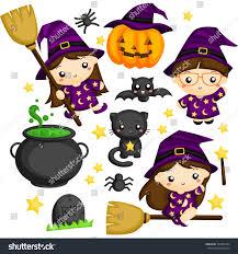 halloween witch stock vector 323552384 shutterstock