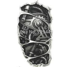 tattoo 3d mechanical mechanical tattoo arm pesquisa google biomechnical 3d