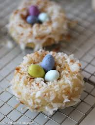 coconut easter eggs easter brunch coconut donuts chez cateylou