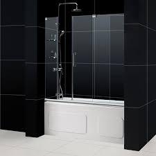 Frameless Shower Sliding Glass Doors Sliding Glass Door Bathroom Handballtunisie Org