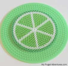 citrus perler bead coasters fun children u0027s craft my frugal