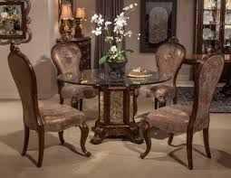 Glass Top Dining Table And Chairs Formal Dining Room Sets Cherry Mahogany Traditional Dining