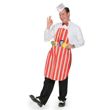 Oriental Halloween Costumes Candy Shop Owner Costume Free Fun Halloween Oriental Trading