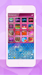 iphone themes that change everything love keyboard themes for iphone color ful background skins cute