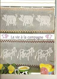 Crochet Kitchen Curtains by 198 Best Cortinas De Crochet Images On Pinterest Crochet