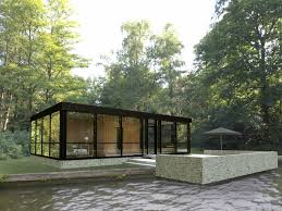 Philip Johnson Glass House Floor Plan by A Version Of Philip Johnson U0027s Glass House To Call Your Own W