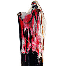 Halloween Ghost Decor Amazon Com 40 Inch Animated Skeleton Ghost Halloween Decoration