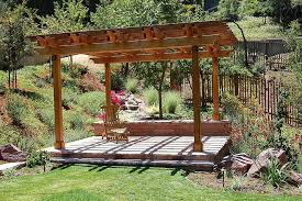 Trellis Landscaping Pergola Narrow Landscape Traditional With Custom Landscape Design