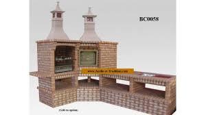cuisine jardin cuisine d ete avec barbecue et four réf bc0058 jardin et tradition