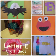 letter e craft ideas craft activities and homeschool