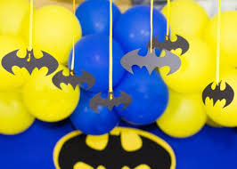 Batman Decoration Batman Superhero Birthday Party Planning Ideas Decorations