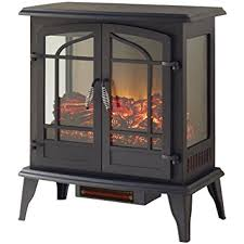 Electric Stove Fireplace Amazon Com Legacy 1 000 Sq Ft 25 In Freestanding Panoramic