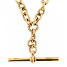 vintage watch chain necklace images Antique albert watch chain 18ct gold j e allnutt son jpg