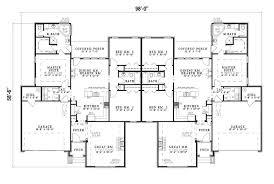 ranch floor plan 2 family ranch house plans unique multi family home floor plans