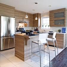 armoir de cuisine des armoires de mélamine comme du bois cuisine inspirations