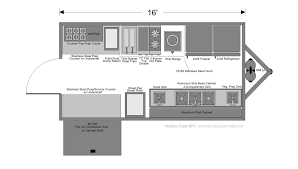 asian food trailer u2013 16 foot side kick montana trailer manufacturing