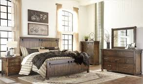 lakeleigh brown panel bedroom set from ashley coleman furniture