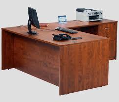 Modern L Shaped Desks Excellent Large L Shaped Desk Wood Stunning Ideas Throughout