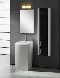 Bathroom Storage Ideas With Pedestal Sink Modern Pedestal Sinks For Small Bathrooms Foter