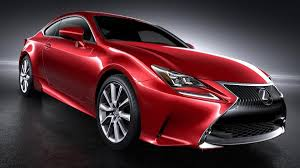 red lexus truck lexus rc coupe revealed at tokyo motor show autoweek