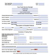 Service Invoice Template Excel Free Tow Service Invoice Template Excel Pdf Word Doc
