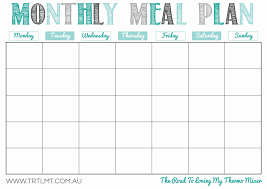 lunch box planner template maisdeumbilhao passamfome monthly meal planner template new