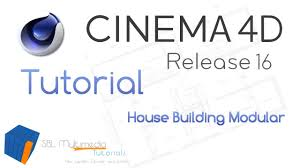 cinema 4d r16 tutorial house builder modular deutsch sbl